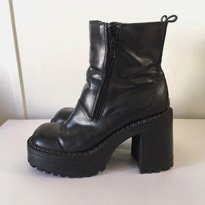 Vintage Platform Boots